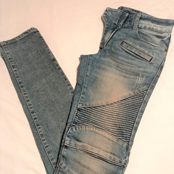 ILODE Mens Biker Jeans (Sm)